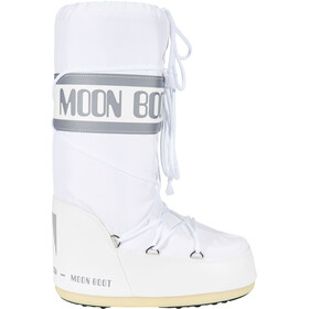 Moon Boot Nylon Bottes, white